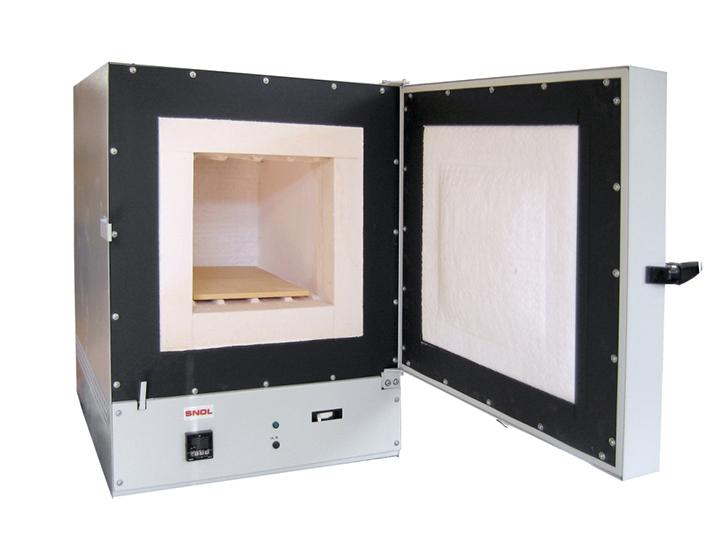 Изображение муфельной электропечи SNOL с нагревателем, расположенным внутри камеры