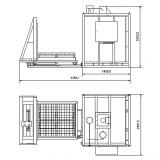 Электрическая печь с выдвижным подом – SNOL 2000/600
