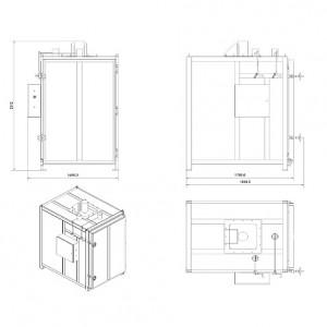 Сушильный шкаф с температурой нагрева до +200ºС – SNOL 1300/200