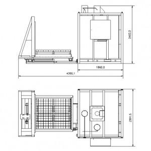 Камерная электропечь SNOL 1800/600