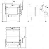 Электропечь для обжига керамики и фарфора – SNOL 510/1100