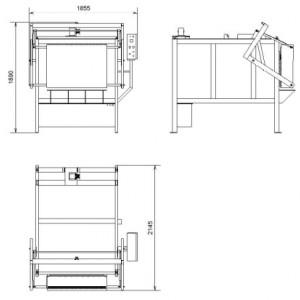 Электропечь для обжига керамики и фарфора – SNOL 510/1200